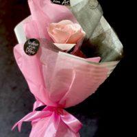 Rose unique et emballée